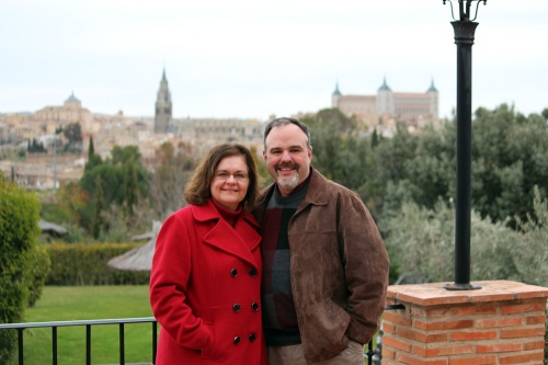 In Toledo, Castilla-La Mancha, Spain